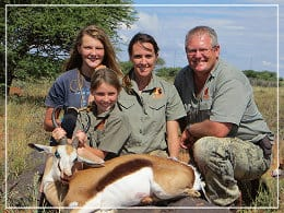 mike birch of hunt the sun and his family