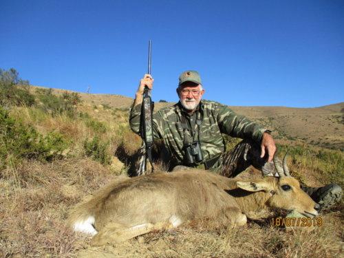 Mark Kemp Mountain Reedbuck